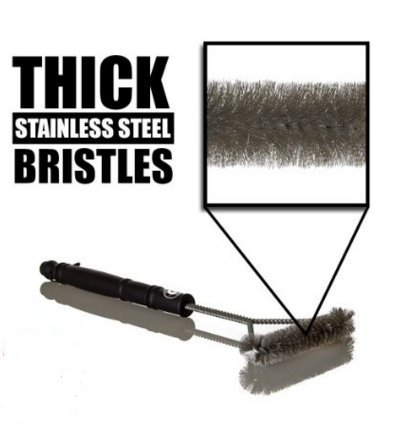 Camp Cooking Tips And Tricks - Use the right camp cooking tools like this Grill Brush
