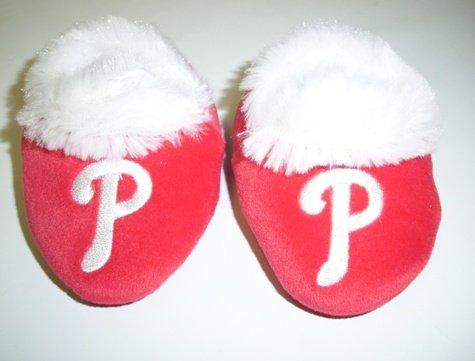 Philadelphia Phillies MLB Baby Bootie Slippers