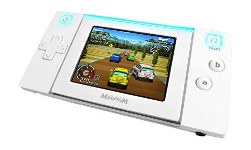 Millennium M521 - Arcade Neo 2.0, Tragbare Design Videospielkonsole, weiß