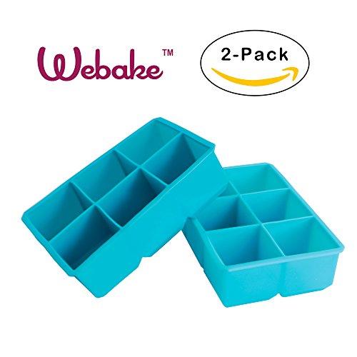 Webake 2 pack Silicone Molds Large