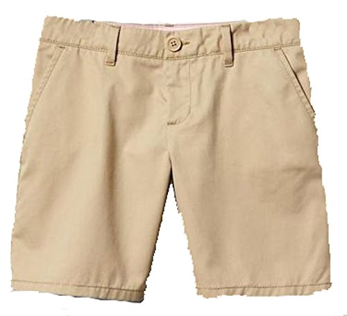 GAP Kids Girls Khaki Classic Chino School Uniform Shorts 6
