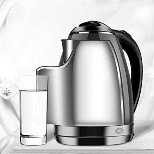 Wasserkocher aus Edelstahl, Haushalts-Wasserkocher mit großer Kapazität Automatische Abschaltung 24 Stunden Isolierung 1500W