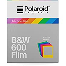 Polaroid Originals 4673 B&W Film for 600 Hard Color Frames, Multicolor