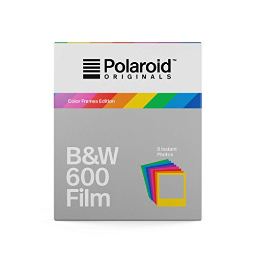 Polaroid Originals B&W Film for 600 - Hard Color Frames (4673) (600 Film Pack)