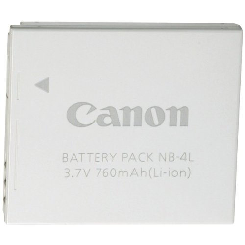CANON 9763A001AA Canon(R) NB-4L Replacement - Sd30 Powershot Canon