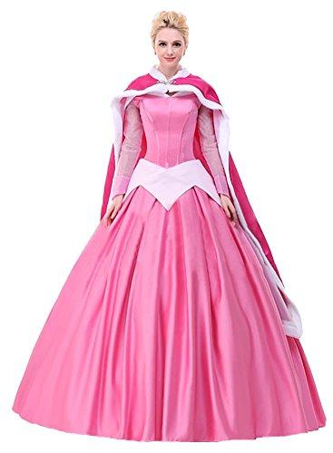 Ace Deluxe Adult Women's Sleeping Beauty Princess Costume Dress Custom Made (S, Dress) (Custom Made Disney Princess Costumes)
