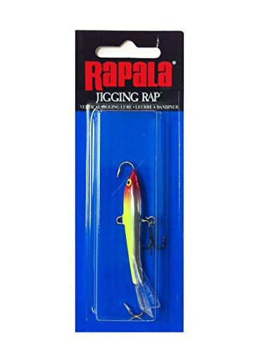 Rapala Jigging Rap 07 Fishing lure, 2.75-Inch, Clown