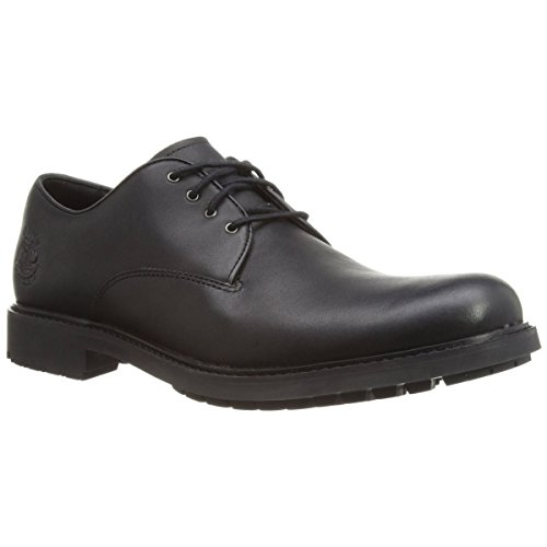Mens Earthkeepers Leather Oxford (Timberland Men's Earthkeepers Stormbuck Oxford,Black,9 M US)