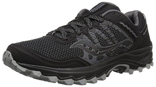 Saucony Men's Grid Excursion TR12 Running Shoe, Black, 11.5 M - Saucony Black Shoes Mens