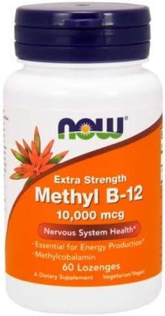 Methyl B-12, 10,000 MCG, 60 LOZENGES Pack of 2