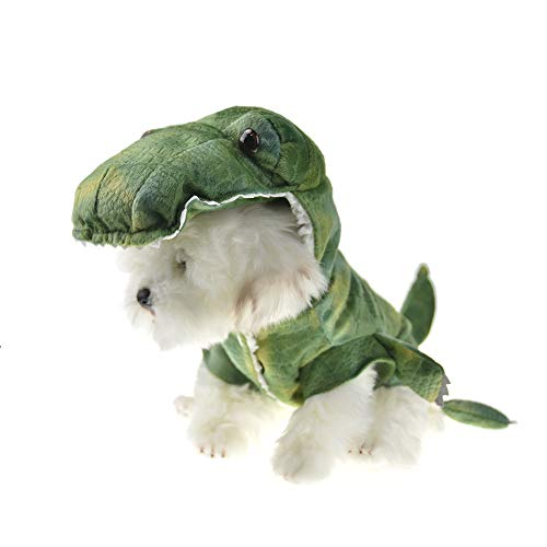MUYAOPET Halloween Dinosaur Dog Costume Small Dog Winter