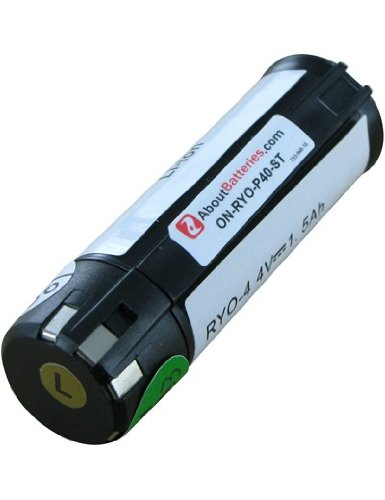Batterie type RYOBI AP 4001, 4.0V, 1500mAh, Li-ion