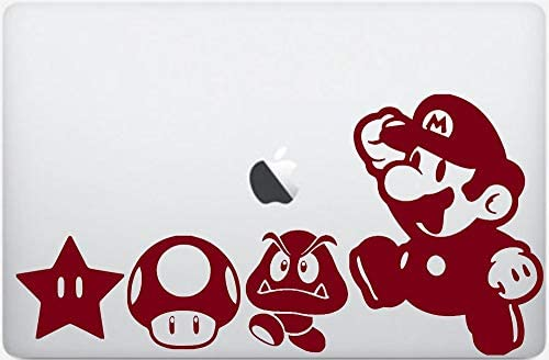 Amazon Com Super World Mario Bros Macbook Pro Sticker Art Print
