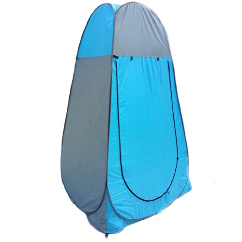 [Utility Changing Shelter Portable Pop Up Zippered Door Camping Latrine Tent] (Group Dressing Up Ideas)