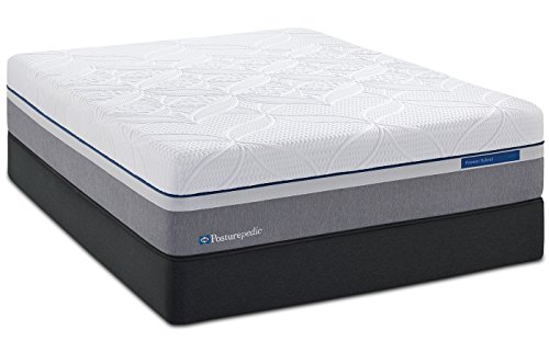 Sealy Posturepedic Hybrid Silver Plush Mattress, Queen (Posturepedic Plush Sealy)