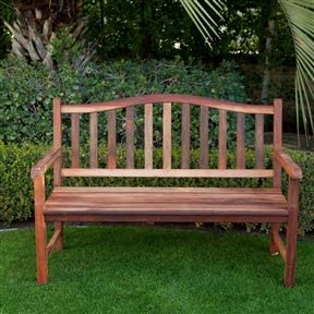 Amazon Com Chooseandbuy 4 Ft Wood Garden Bench With Curved