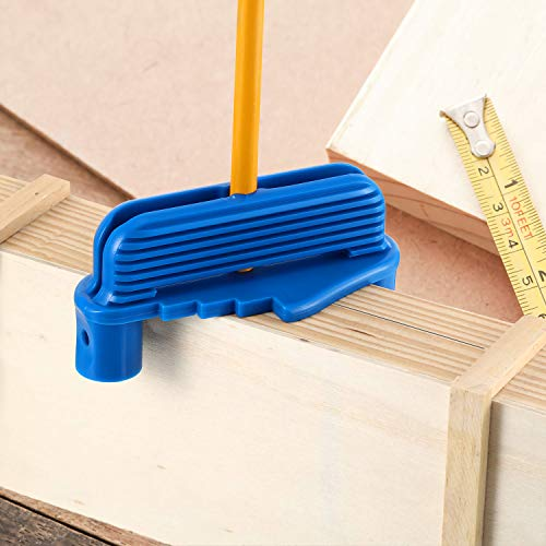 Center Offset Scriber Marking Tool Woodworking Center Finder Tool Wood Scribe Marking Gauge Fits Standard Wooden
