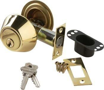 Brass Accents D09-D0050-619 Single Cylinder Deadbolt - 2 - Accent 619