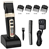 Hair Clippers for Men, ETEREAUTY Cordless Hair Trimmer Rechargeable...