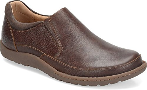 Born - Mens - Nigel Slip On Brown Dark Brown