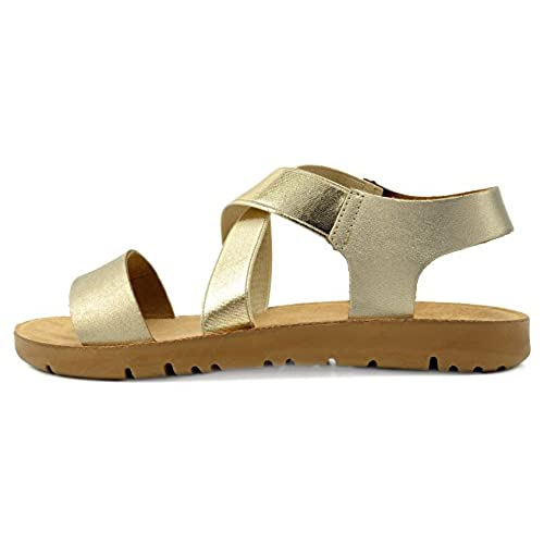 2c90ec237 lovely Dream Pairs Women s GREEK Platform Wedge Flat Sandals ...