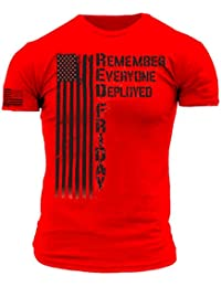 Remember Everyone Deployed RED Friday Premium Athletic Fit T Shirt