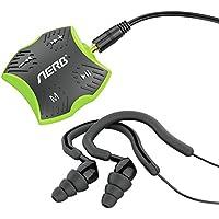 Aerb MD197 4GB Waterproof MP3 Player W Waterproof Earphones W Shuffle Feature, Green