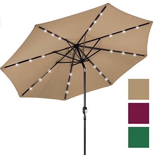 Best Choice Products Umbrella Adjustment Tan