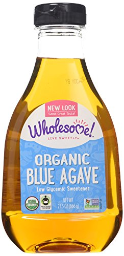 Wholesome Sweetners Organic Blue Agave, 23.5000-ounces (Pack of3) (Nectar Sweetner)
