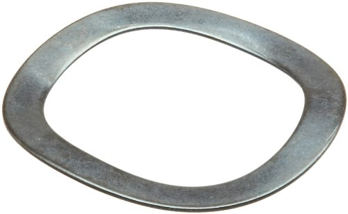Spring Lb 0.25 (Wave Washers, Stainless Steel, 2 Waves, Inch, 0.134