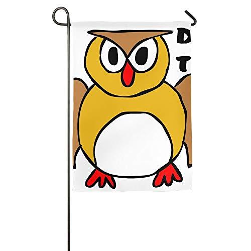 NOAID Owl Home Garden Flags Summer Decorative Garden