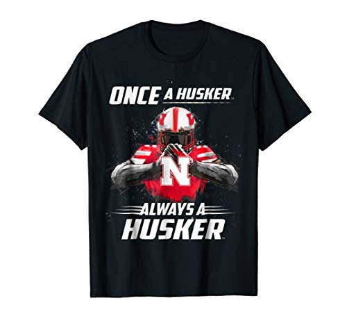 Nebraska Cornhuskers Once A Huskers - Red Shirt ()