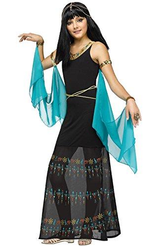 Fun World Girls Egyptian Queen Costume, Multicolor, Medium 8-10 -