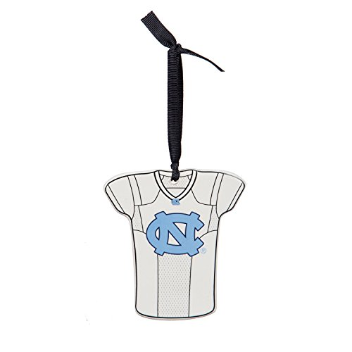 Team Sports America University of North Carolina Personalizable Jersey Ornament with Team Color Markers