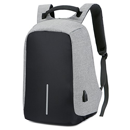 Anti-theft Laptop Backpack - USB Charging, Unisex Casual Fashion, Anti-scratch, Waterproof Night Safety School Bag