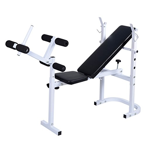 HPD Body Solid Olympic Folding Weight Bench Incline Lift Workout Press Home Gym by HPD Fitness