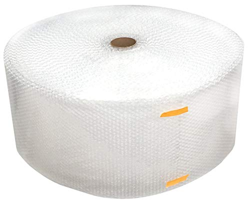 "Cell Packaging 1/2"" 125ftx24in Large Bubble Cushioning wrap, Perforated 12in."