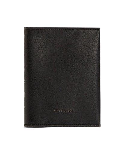 Matt and Nat Voyage Vintage Passport Case, Black
