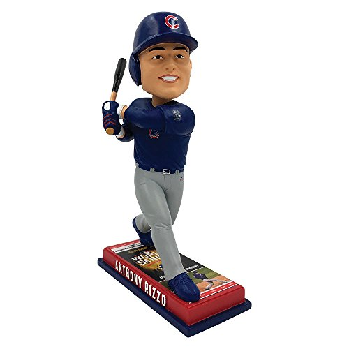 Forever Collectibles Anthony Rizzo Chicago Cubs Ticket World SEREIES Champs BOBBLEHEAD