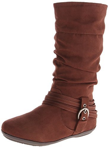 Rampage Amanda Boot (Little Kid/Big Kid),Brown,3 M US Little Kid