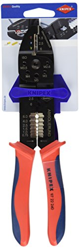 knipex 97 22 240 sb crimping pliers 9 45 in blister packaging the dead bell. Black Bedroom Furniture Sets. Home Design Ideas