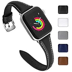Amazon.com : Fullmosa 5 Colors Leather Band Compatible