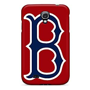 Shock Absorption Cell-phone Hard Cover For Samsung Galaxy S4 (Lhs9650xyuN) Provide Private Custom Beautiful Boston Red Sox Pattern