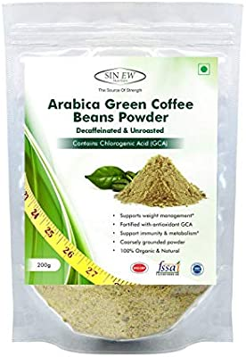 Amazon Com Sinew Nutrition Arabica Green Coffee Beans Powder