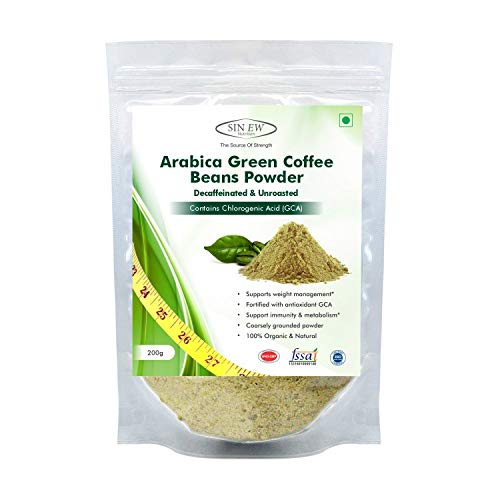 Sinew Nutrition Green Coffee Beans Powder for Weight Management – 200 g
