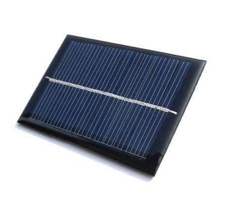 Generic ABC555 Mini Solar Panel for DIY Projects (Black)