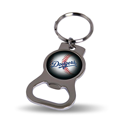 Rico Industries Los Angeles Dodgers Keychain and Bottle Opener (Los Angeles Dodgers Key Ring)