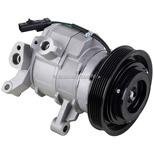 AC Compressor A/C Clutch For Dodge Dakota Durango Ram 1500 Jeep Commander - BuyAutoParts 60-02329NA NEW