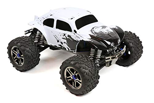 SummitLink Compatible Custom Body Eagle Style Replacement for 1/10 1/8 Scale RC Car or Truck (Truck not Included) - Bug Style Car