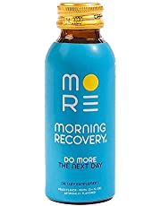 Morning Recovery Drink V2, Liver Detox and Electrolyte Supplement with Dihydromyricetin (DHM), N-Acetyl cysteine (NAC), Milk Thistle, B6 & B12, 3.4 fl oz (Vegan, Caffeine-Free, Non-GMO)